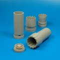 Accessory for plastic models - F/A-18C Hornet exhaust nozzles - opened