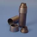 Accessory for plastic models - F-14A TOMCAT exhaust nozzles - closed
