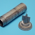 Accessory for plastic models - MiG-15 exhaust nozzle