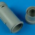 Accessory for plastic models - J35 Draken exhaust nozzle