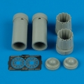 Accessory for plastic models - F/A-18C exhaust nozzles - opened