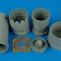 Accessory for plastic models - F-16CG/CJ Block 40/50 exhaust nozzles