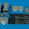 Accessory for plastic models - F-22A Raptor exhaust nozzle