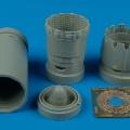 Accessory for plastic models - F-16C Block 30/40/50/60 exhaust nozzle