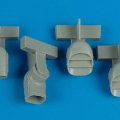 Accessory for plastic models - Harrier GR.5/7 exhaust nozzles