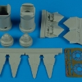 Accessory for plastic models - F-22A Raptor exhaust nozzles