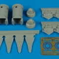 Accessory for plastic models - F/A-22 Raptor exhaust nozzles