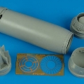 Accessory for plastic models - F-8N Crusader exhaust nozzle