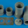 Accessory for plastic models - F-15I Ra´am exhaust nozzles