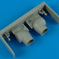 Accessory for plastic models - Yak-38 variable exhaust nozzles