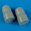 Accessory for plastic models - MiG-29 Fulcrum correct exhaust nozzles with covers