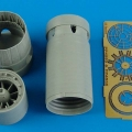 Accessory for plastic models - Mirage 2000C/B/D/N exhaust nozzle - opened