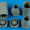 Accessory for plastic models - F/A-18E/F exhaust nozzles - closed