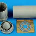 Accessory for plastic models - Kfir C2/C7/F-21 exhaust nozzle