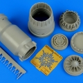 Accessory for plastic models - MiG-23 Flogger exhaust nozzle - closed