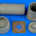 Accessory for plastic models - Jas-39A Gripen exhaust nozzle - opened