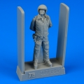 Accessory for plastic models - Soviet air force fighter pilot