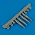 Accessory for plastic models - Spitfire Mk.IXe gun barrels