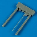 Accessory for plastic models - Lavochkin La-5 gun barrels and pitot tube