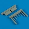 Accessory for plastic models - F6F-3/5 Hellcat gun barrels