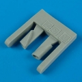 Accessory for plastic models - A-37 Dragonfly gun barrels