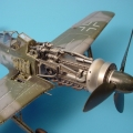 Accessory for plastic models - Fw 190D gun bay