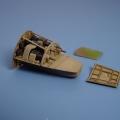 Accessory for plastic models - Me 262A SCHWALBE gun bay