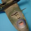 Accessory for plastic models - Spitfire Mk. IXc gun bay