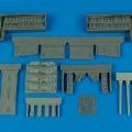 Accessory for plastic models - P-51B/C Mustang gun bay