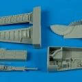 Accessory for plastic models - F-5E Tiger II gun bay