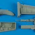 Accessory for plastic models - F-5F Tiger II gun bay