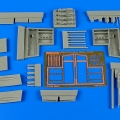 Accessory for plastic models - Spitfire Mk.IXe gun bay