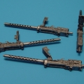 Accessory for plastic models - Browning M2 . 50cal wing mounted-mechanical