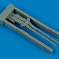 Accessory for plastic models - German 7,92mm gun MG 81Z