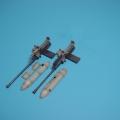 Accessory for plastic models - Ju 87G 2 x 3,7 cm Bordkanone pods