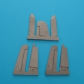 Accessory for plastic models - F4U-1 Corsair control surfaces