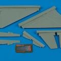Accessory for plastic models - J35 Draken wing set