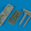 Accessory for plastic models - MiG-23 Flogger canopy frame