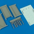 Accessory for plastic models - Flightline handtrack (3 shelves)