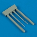 Accessory for plastic models - MiG-23 Flogger pitot tube