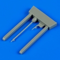 Accessory for plastic models - F4F Wildcat pitot tube