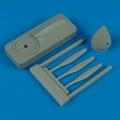 Accessory for plastic models - P-40E/M/N propeller w/tool