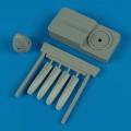Accessory for plastic models - P-51D propeller w/tool