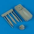 Accessory for plastic models - Hurricane De Havilland propeller w/tool