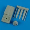 Accessory for plastic models - Hurricane Mk.I rotol propeller w/tool