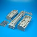 Accessory for plastic models - F/A-18 Hornet wheel bay