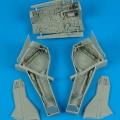 Accessory for plastic models - F-105 Thunderchief wheel bay