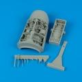 Accessory for plastic models - F-16 Falcon wheel bay