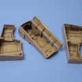 Accessory for plastic models - Dornier Do 335 PFEIL  wheel bay