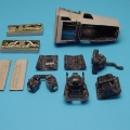 Accessory for plastic models - RF-4B/C Phantom II photo bay (with clear parts)